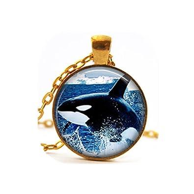Killer whale necklace sea jewelry orca necklace sea animal killer killer whale necklace sea jewelry orca necklace sea animal killer whale pendant jewelry aloadofball Choice Image