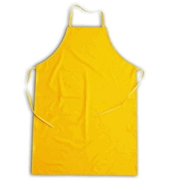 Grembiule Giallo O Parananza Cerato o In PVC Impermeabile Per Lavapiatti  H020  Amazon.it  Abbigliamento f8561fdf74f3