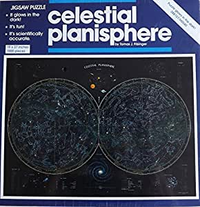 Celestial Planisphere; 1000 pc Glow In the Dark Jigsaw Puzzle