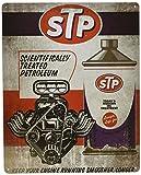 STP Today's Modern Oil Treatment Nostalgic Vintage Collectible Tin Metal Sign