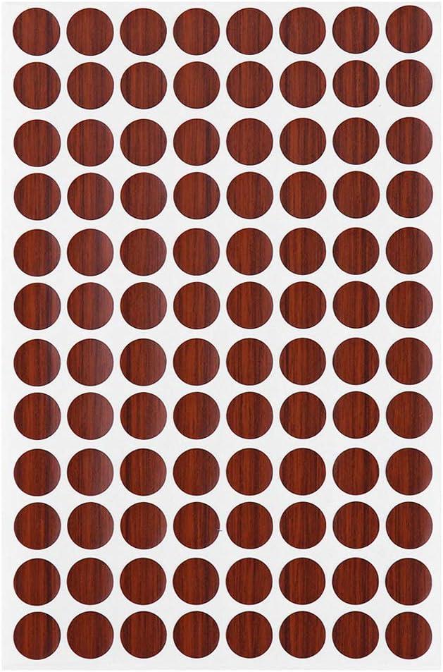 adhesivo para tornillos tapones de tornillos Tapas adhesivas de PVC para muebles Weiye
