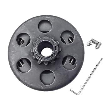 Embrague centrífugo 12 dientes Bore 3/4 pulgadas para # 35 cadena para Go Kart Mini Bike: Amazon.es: Coche y moto