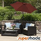 Cheap SuperShade Patio Umbrella 11ft. Diam. w/Tilt Alum. Pole