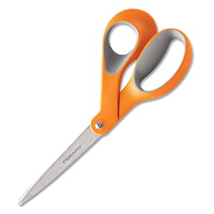 Fiskars 8-Inch Softgrip Scissors