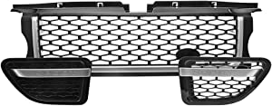 Motorfansclub Grille Front Grill Fit For Compatible With Range Rover Sport 2006-2009 Air Side Vents Autobiography