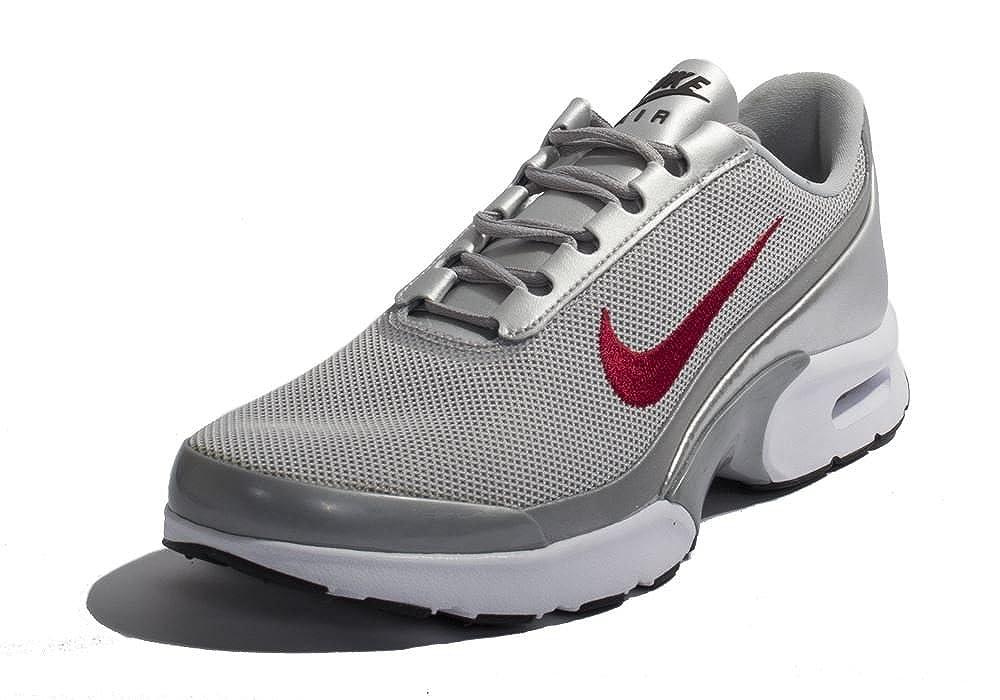 e859c988aa169 Nike Air Max Jewell QS Damen Laufschuhe Turnschuhe 910313 Turnschuhe - Metallisch  Silber Universität Rot 001