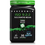 PERFORMIX ISO 9:2:2 MultiPhase BCAA Powder, Recovery and Hydration, 30 Servings, Blue Razz Ice