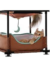 """17"""" Sleeper Steel Cat Condo"""