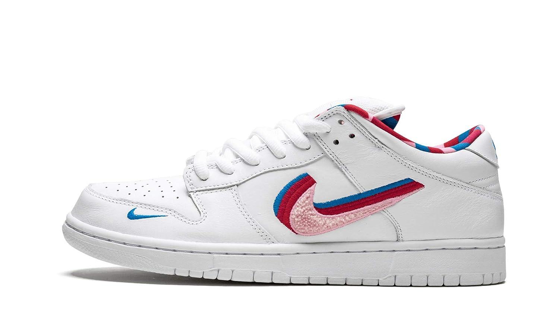 save off c8176 d4118 Amazon.com   Sb Dunk Low (White/Pink-Rose 12)   Shoes