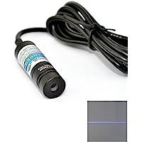 Industrial Violet Blue Laser 405nm 50mw Adjusted Diode Laser Line Module 14.5x48mm 5V