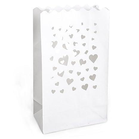 Pack de bolsas de papel ignífugo para velas, diseño de ...