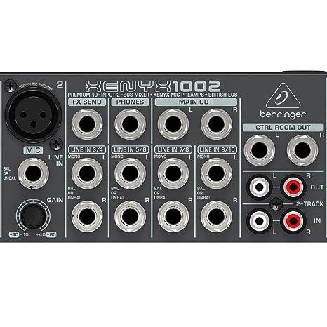 Behringer 1002 10 Input 2 Bus Mixer