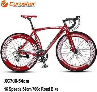 Cyrusher® XC700 Hombres Bicicleta de Carretera 14 Velocidades 56 ...