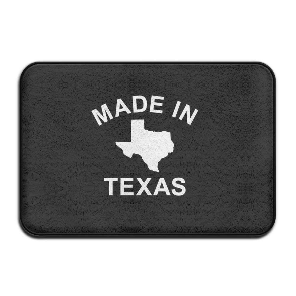 Smart Dry Memory Foam Bath Kitchen Mat for Bathroom - God Jesus Texas Shower Spa Rug Entrance Door Mats Home Decor with Non Slip Backing 18'' x 30'' Inches
