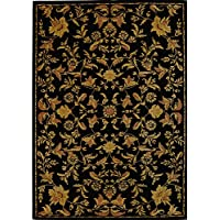Safavieh Metro Collection MET989B Handmade Multicolored Wool Area Rug (6 x 9)