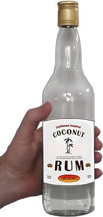 Levadura de parte superior Up – Ron de coco
