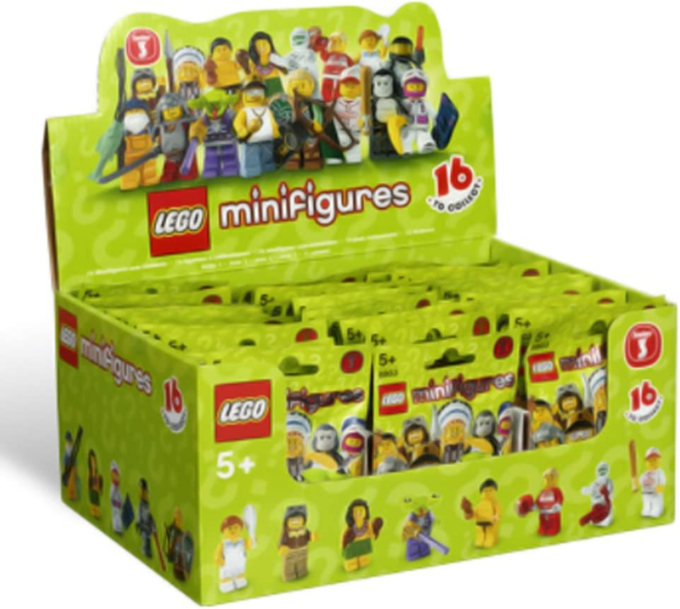 Lego Mystery Block Box 3 mini figures