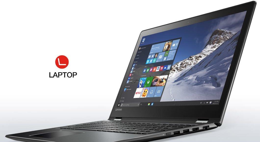 "Lenovo Flex 4 2 in 1 Convertible 15"" FHD IPS Touchscreen Laptop Intel i5-7200U Up to 3.1GHz, 8GB DDR4, 1TB HDD, Bluetooth, Webcam, HDMI, Windows 10"