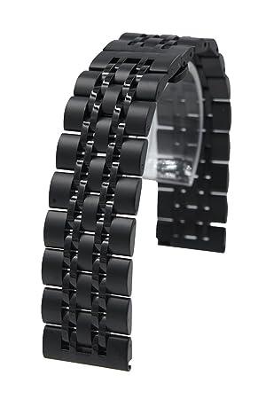 @ccessory 22mm Acero Inoxidable liberación rápida Cadena Correa de Reloj Banda reemplazo Pulsera para Samsung Gear S3 Frontier / S3 Classic/Pebble ...