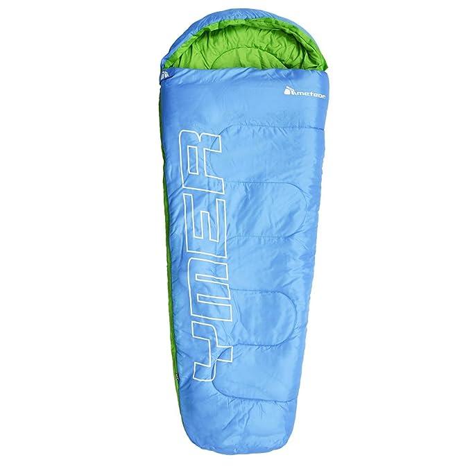 Meteor Outdoorer Premium Saco de dormir infantil, mint / pink (Azul / verde): Amazon.es: Deportes y aire libre