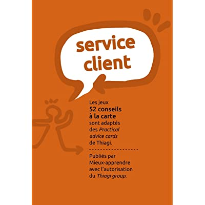 52 conseils à la carte / Service Client