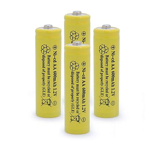 Amazon.com: QBLPOWER - Pilas recargables para lámpara de ...