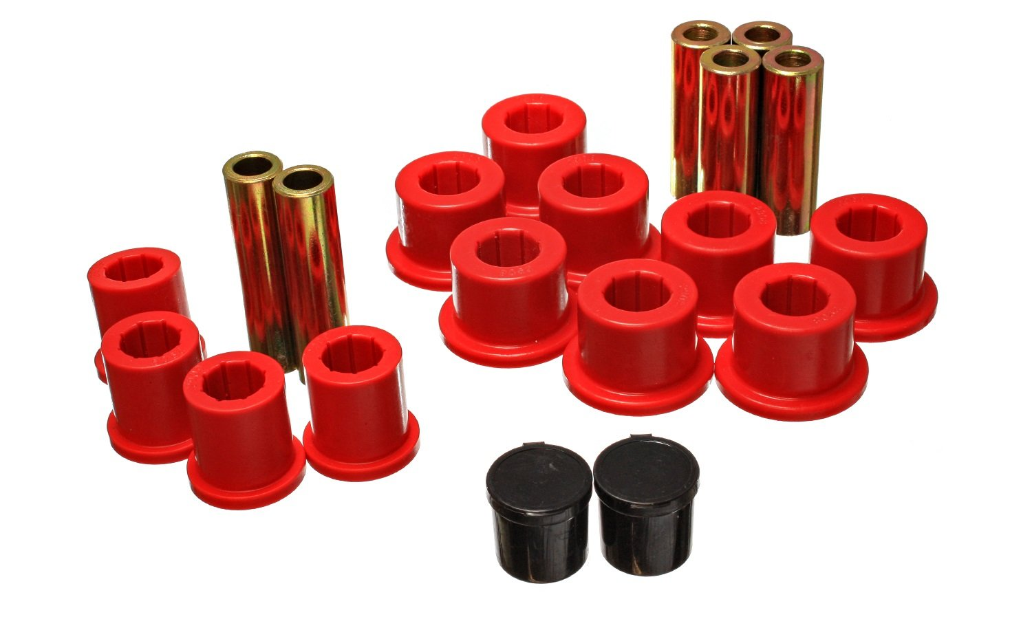 Energy Suspension 5.2118R REAR SPRING BUSHING SET by Energy Suspension