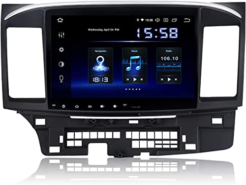 Dasaita 10.2 Android Car GPS Radio for Mitsubishi Lancer 2007 to 2017 Audio Video Player 4G RAM 64G ROM Build in Carplay Android Auto