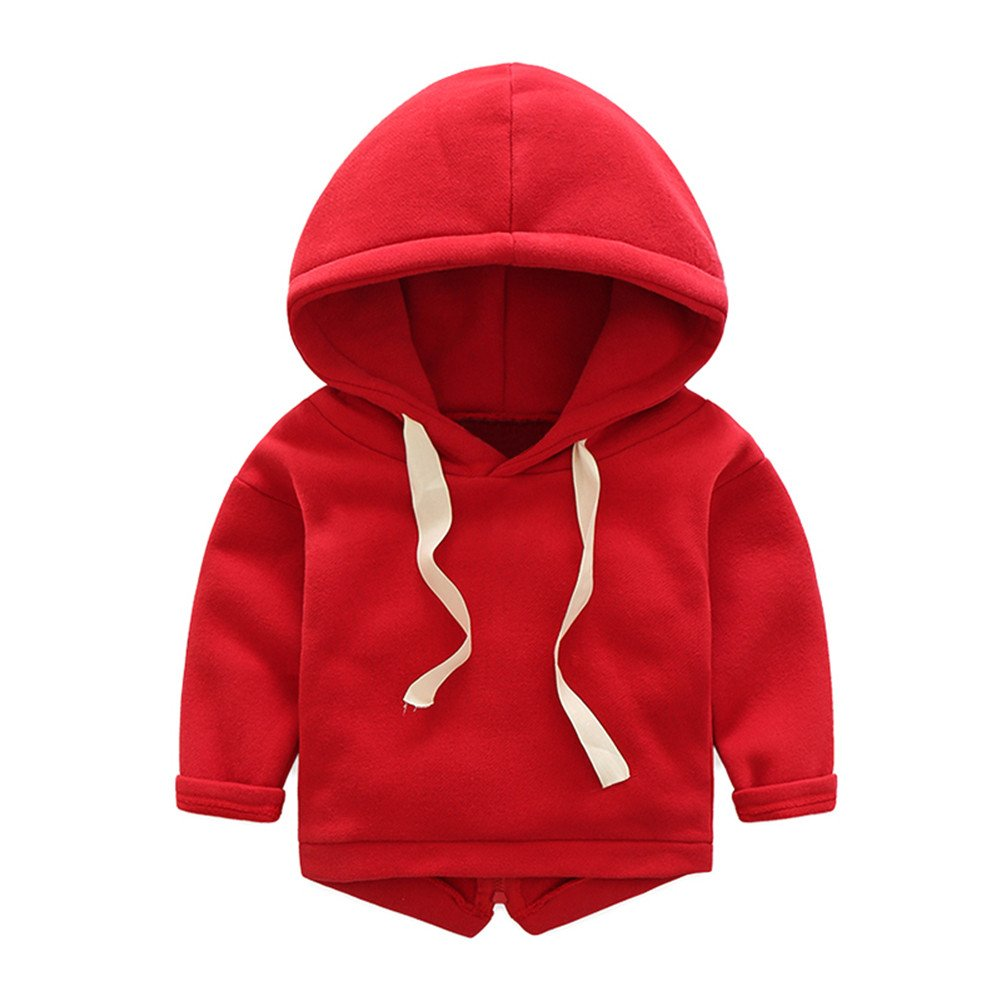 Mud Kingdom Boys We are Young Novelty Hoodie with Rear Zipper