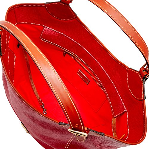 Dooney Valerie Red Pebble amp; Bourke Medium rwZxqgr7U