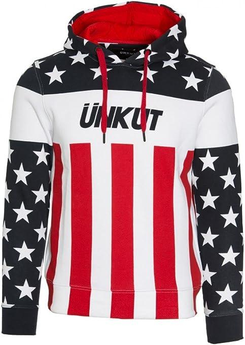 Unkut Sweats Homme Sweat à capuche Unkut Atlanta Blanc