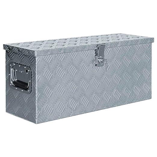 yorten Caja de Aluminio Caja Portátil Multiusos con Sistema de ...