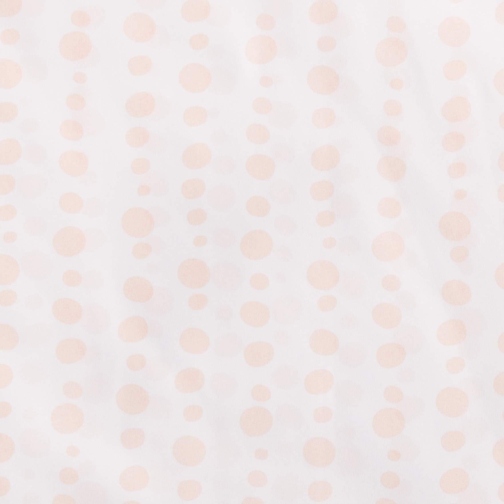 AmazonBasics Kid's Sheet Set - Soft, Easy-Wash Microfiber - Twin, Pink Dotted Stripes by AmazonBasics (Image #2)
