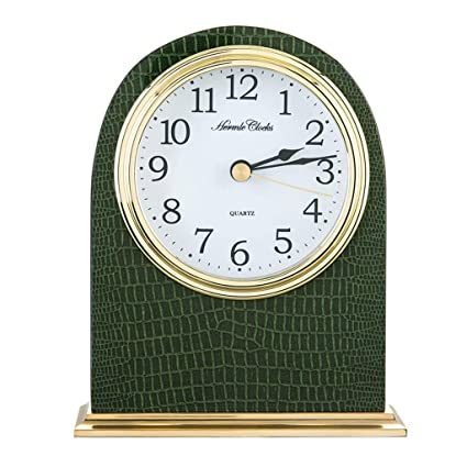 Relojes de mesa de Cuarzo Creativo Decoración de Moda Escritorio Decoración Libre Retro (Color :