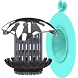 BABATH Drain Hair Catcher Trap and Bathtub Stopper Plug Cover for Sink Tub Shower