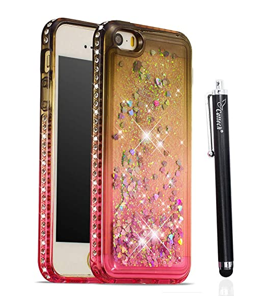 Amazon.com  Glitter Case for iPhone 5 5S SE 3f23ee2be