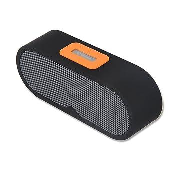 RimeU Altavoz inalámbrico Bluetooth Altavoces Portátil Estéreo Bass Sonido 10W Amplificador de Musica con Micrófono incorporado