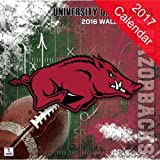 Arkansas Razorbacks 2017 Calendar