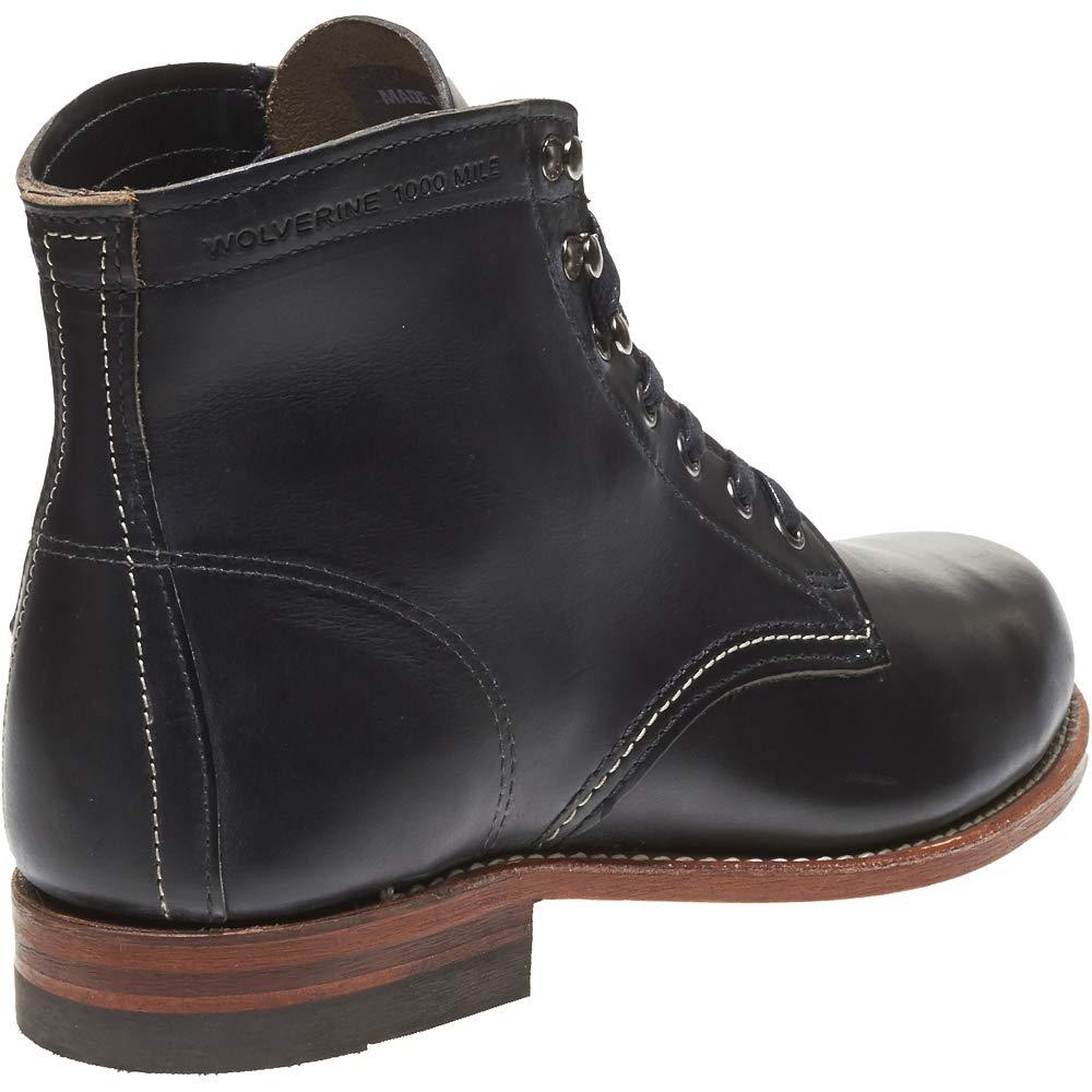 WOLVERINE 1000 MILE schwarz, Men - Stiefel 1000 MILE - schwarz, MILE Schuhgröße EUR 46 f37f4c