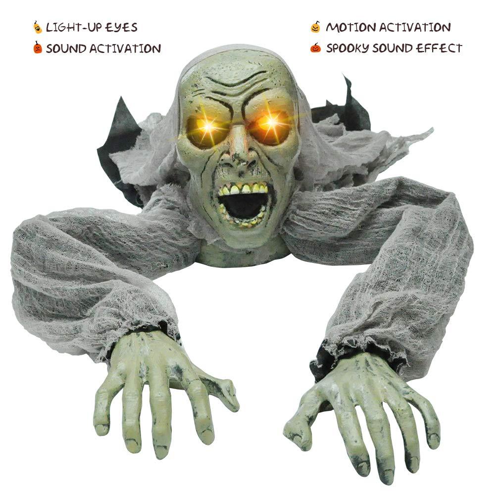 JOYIN Halloween Décor Groundbreaker Zombie with Sound and Flashing Eyes for Yard Decorations by JOYIN