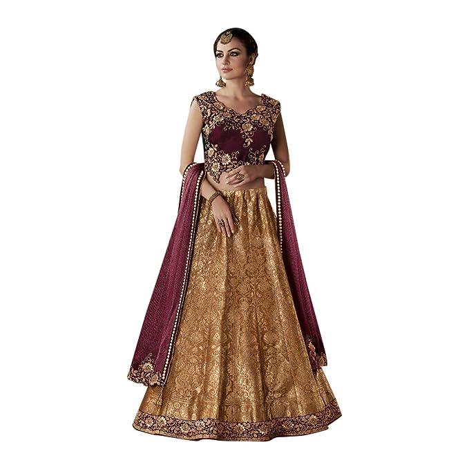 Amazon.com: Festival - Falda india para novia, diseño de ...