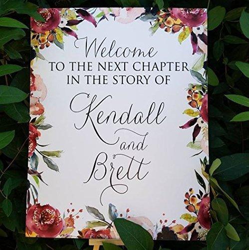 Amazoncom Wedding Welcome Signs Wedding Sign Wedding Weddings