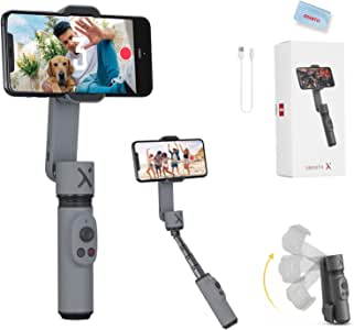 Zhiyun Smooth X Smartphone Gimbal Stabilizer for iPhone 11 Pro Xs Max Xr X 8 Plus 7 6 SE Android Samsung Galaxy S10 Huawei Vivo Cell Phone Vlog Kit Extendable Selfie Stick for YouTube TIK Tok Video
