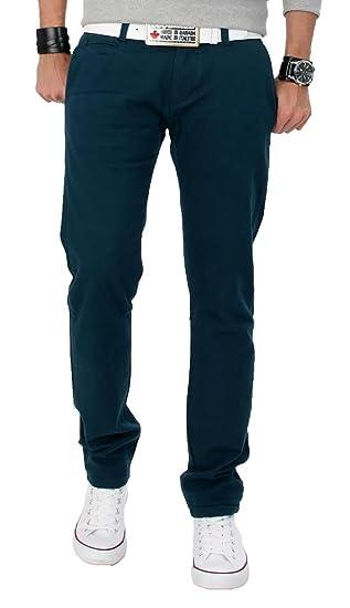 Pantalon chino coupe slim homme