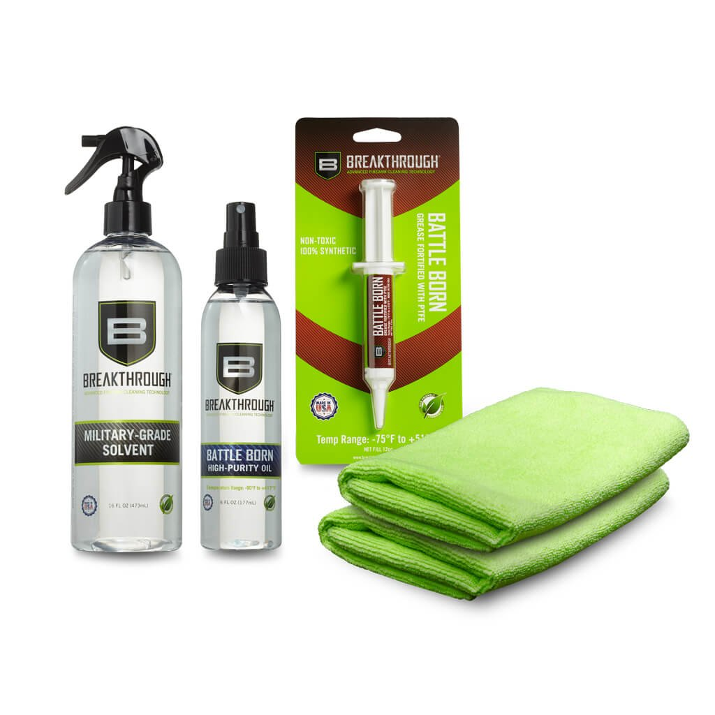 Breakthrough Clean Technologies Solvent, Grease, Oil, Microfiber Towel Bundle by Breakthrough Clean Technologies (Image #1)