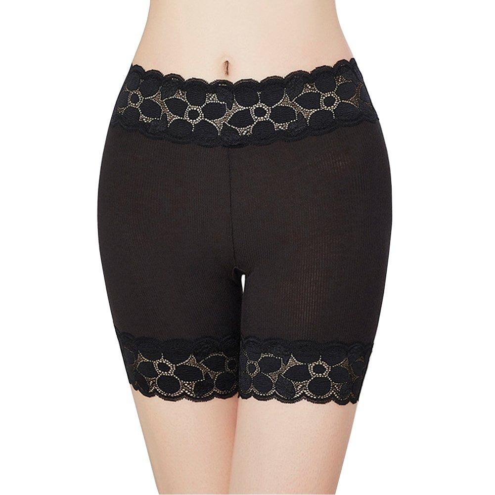 HNYG Women's Safety Shorts 3 Packs Underwear Pants Lace Leggings Freesize A651