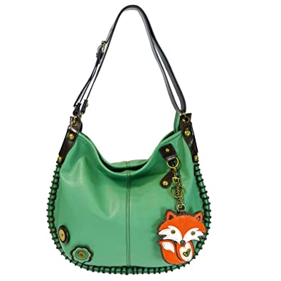 Amazon.com: Chala Hobo Crossbody Bolsa bolsa Grande Fox ...