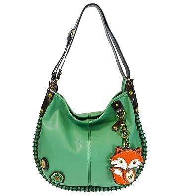 Amazon.com: Chala Hobo Crossbody Bolsa bolsa Grande Fox ...