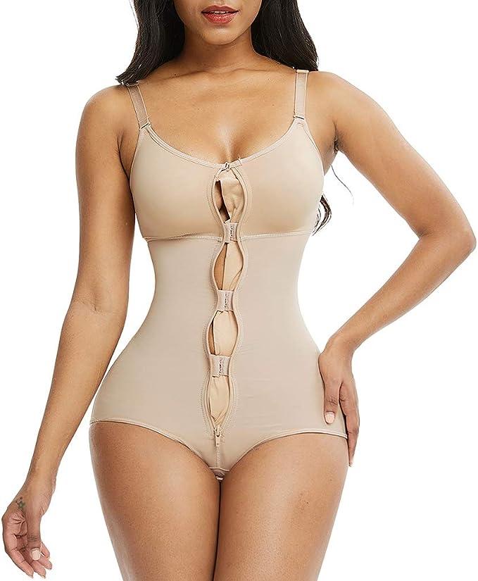 Women Ultra Slim Full Body Shaper Underbust Shapewear Fajas Colombianas Shirt UK