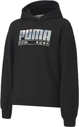 PUMA Alpha Hoodie FL G Sudadera Niñas